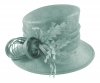 Hawkins Collection Nested Loops Occasion Hat in Mint Green