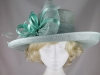 Hawkins Collection Shimmer Loops Events Hat in Mint Green