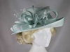 Hawkins Collection Upbrim Occasion Hat in Mint Green