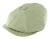 Failsworth Millinery Irish Linen Alfie Cap in Mint