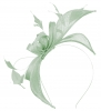 Failsworth Millinery Sinamay Fascinator in Aloe
