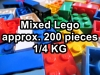 Lego Mixed Set with approx two hundred pcs / Quarter KG