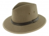 Failsworth Millinery Irish Linen Safari in Mocha
