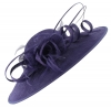 Failsworth Millinery Ascot Disc Headpiece in Morado