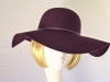 Failsworth Millinery Wedding hat Mulberry
