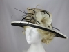 Hawkins Collection Two Tone Events / Wedding Hat