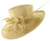 Hawkins Collection Occasion Hat in Natural