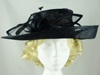 Loops and Feathers Wedding Hat