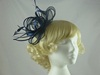 Sinamay and Satin Loops Fascinator