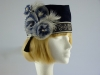 Navy Flapper hat