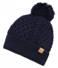 Boardman Bobble Ski Hat in Navy