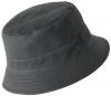 Failsworth Millinery Cotton Reversible Bucket Hat in Navy