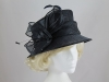 Failsworth Millinery Diamante Wedding Hat in Navy