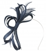 Failsworth Millinery Fascinator with Diamantes in Navy