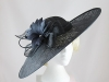 Failsworth Millinery Flower Events Disc in Navy