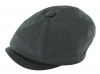 Failsworth Millinery Irish Linen Alfie Cap in Navy