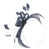 Failsworth Millinery Sinamay Fascinator in Navy