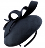 Failsworth Millinery Velvet Pillbox in Navy