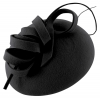 Failsworth Millinery Wool Felt Pillbox in Navy