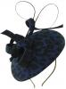 Failsworth Millinery Wool Leopard Print Pillbox