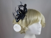 Hawkins Collection Loops Fascinator in Navy