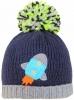 SSP Hats Boys Rocket Beanie Bobble Hat