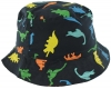 SSP Hats Dinosaur Cotton Sun Hat in Navy