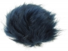 Zelly Detachable Bobble Pom Pom in Navy