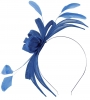 Failsworth Millinery Aliceband Sinamay Fascinator in Neptune