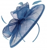 Failsworth Millinery Sinamay Disc Headpiece in Neptune