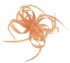 Aurora Collection Loops in Hessian Fascinator in Nude
