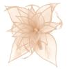 Failsworth Millinery Diamante Organza Fascinator in Nude