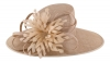 Failsworth Millinery Ascot Hat in Nude