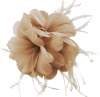 Failsworth Millinery Feather Fascinator in Nude