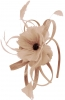 Failsworth Millinery Flower Fascinator in Nude