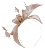 Failsworth Millinery Sinamay Fascinator in Nude