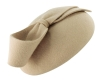 Failsworth Millinery Wool Felt Pillbox in Nude