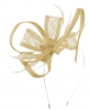 Max and Ellie Flower Fascinator in Nude