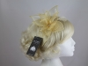 Failsworth Millinery Organza Petals Fascinator in Oatmeal