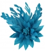Failsworth Millinery Feather Flower Fascinator in Ocean