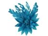 Failsworth Millinery Feather Flower Fascinator in Ocean
