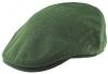 Hawkins Wool Flat Cap in Olive