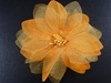 Delicate Flower Corsage in Orange