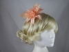 Flower Aliceband Fascinator in Orange