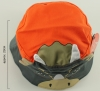 Jiglz Triceratops Cotton Sun Hat in Orange