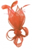 Max and Ellie Lily Comb Fascinator in Orange