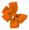 Molly and Rose Small Hair Bow in Orange