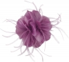 Failsworth Millinery Feather Fascinator in Orchid