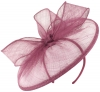 Failsworth Millinery Sinamay Disc in Orchid