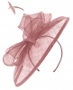 Failsworth Millinery Sinamay Disc Headpiece in Orchid